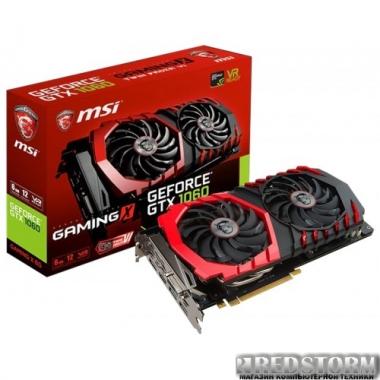 Видеокарта MSI PCI-Ex GeForce GTX 1060 Gaming X 6GB GDDR5 (192bit) (1569/8008) (DVI, HDMI, 3 x DisplayPort) (GTX 1060 GAMING X 6G)