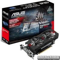 Asus PCI-Ex Radeon R7 360 2GB GDDR5 (128bit) (1070/6000) (2x DVI, HDMI, DisplayPort) (R7360-OC-2GD5-V2)