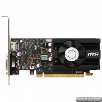 MSI PCI-Ex GeForce GT 1030 Low Profile OCV1 2GB GDDR5 (64bit) (1265/6008) (DVI, HDMI) (GT 1030 2G LP OCV1)