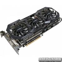 Gigabyte PCI-Ex Radeon R9 Fury WindForce 3X 4096MB HBM (4096bit) (1010/1000) (DVI, HDMI, 3 x DisplayPort) (GV-R9FURYWF3OC-4GD)