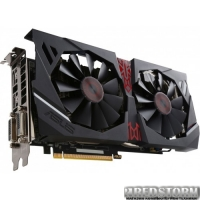 Asus PCI-Ex Radeon R9 380 Strix 2GB GDDR5 (256bit) (970/5500) (2x DVI, HDMI, DisplayPort) (STRIX-R9380-DC2-2GD5-GAMING)