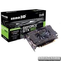 Inno3D PCI-Ex GeForce GTX 960 2048MB GDDR5 (128bit) (1127/7010) (DVI, HDMI, 3 х DisplayPort) (N960-1SDV-E5CN)