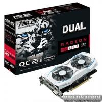 Asus PCI-Ex Radeon RX460 Dual 2GB GDDR5 (128bit) (1224/7000) (DVI, HDMI, DisplayPort) (DUAL-RX460-O2G)