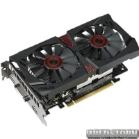 Asus PCI-Ex GeForce GTX 750 Ti Strix 2048MB GDDR5 (128bit) (1124/5400) (DVI, HDMI, DisplayPort) (STRIX-GTX750TI-OC-2GD5)