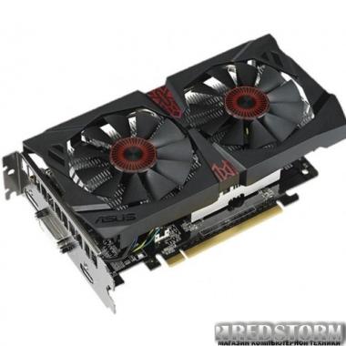 Видеокарта Asus PCI-Ex GeForce GTX 750 Ti Strix 2048MB GDDR5 (128bit) (1124/5400) (DVI, HDMI, DisplayPort) (STRIX-GTX750TI-OC-2GD5)