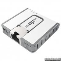 Точка доступа Mikrotik mAP lite (RBMAPL-2ND)(1x10/100 Ethernet ports, 1x micro USB, 1,3 dBi)