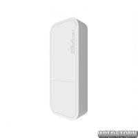 Точка доступа MikroTik wAP White (RBWAP2ND) (N300, 650MHz/64Mb, 1х100Мбит, антенна 2дБи, всепогодный белый корпус)