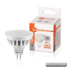 Лампа светодиодная 25SMR16-220-3GU5.3-S