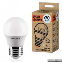 Светодиодная лампа 25S45GL7.5E27-P
