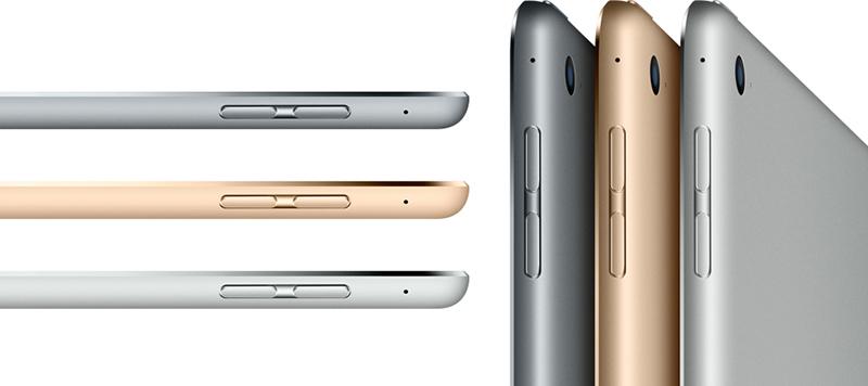 Толщина планшета Apple